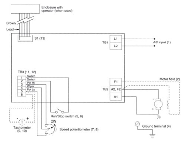 Vari Speed A2000 Series A2000 Wiring Schematic